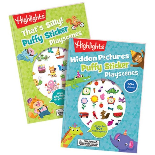 Puffy Sticker Playscenes